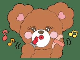* Chocolate Bear * sticker #1518798