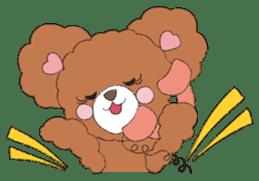 * Chocolate Bear * sticker #1518799