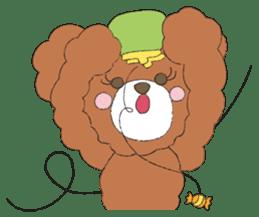 * Chocolate Bear * sticker #1518801