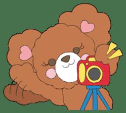 * Chocolate Bear * sticker #1518802