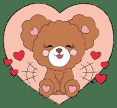 * Chocolate Bear * sticker #1518803