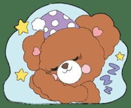 * Chocolate Bear * sticker #1518805