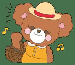 * Chocolate Bear * sticker #1518807