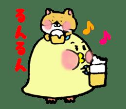 Piyomi&Piyota&Hamuko sticker #1519465