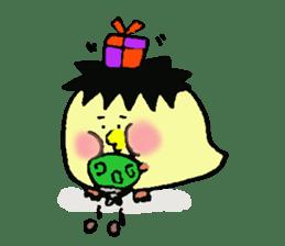 Piyomi&Piyota&Hamuko sticker #1519468