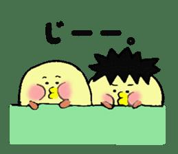 Piyomi&Piyota&Hamuko sticker #1519473