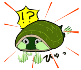 sticker of cute turtle sticker #1521173