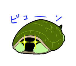 sticker of cute turtle sticker #1521174