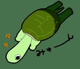 sticker of cute turtle sticker #1521181