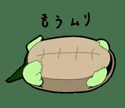 sticker of cute turtle sticker #1521185