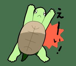 sticker of cute turtle sticker #1521186