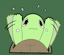 sticker of cute turtle sticker #1521188