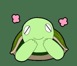 sticker of cute turtle sticker #1521189