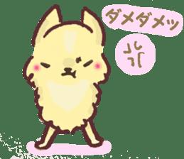 Chihuahua peek from gap sticker #1521231