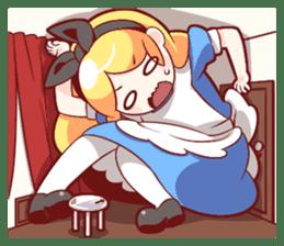 Alice's wonderful days sticker #1521945