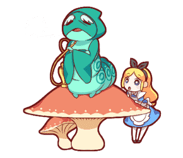 Alice's wonderful days sticker #1521947