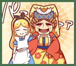 Alice's wonderful days sticker #1521957