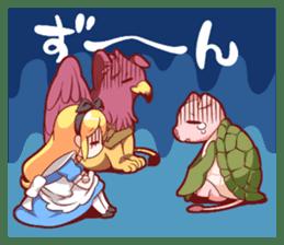 Alice's wonderful days sticker #1521958
