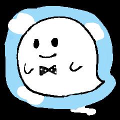 Ghost-kun sticker