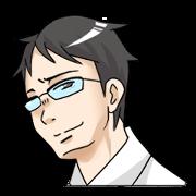 สติ๊กเกอร์ไลน์ Good-looking Guy IkehayaKun