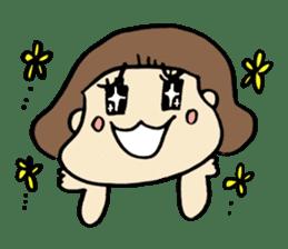 One year old baby Otowa-chan sticker #1527859