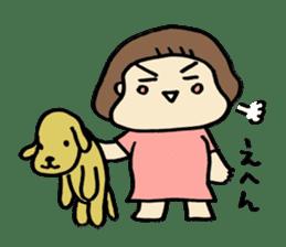 One year old baby Otowa-chan sticker #1527870