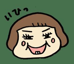 One year old baby Otowa-chan sticker #1527874