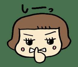 One year old baby Otowa-chan sticker #1527881