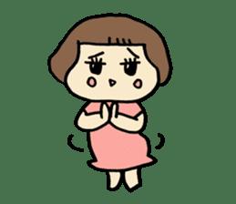 One year old baby Otowa-chan sticker #1527888