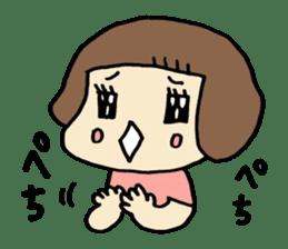 One year old baby Otowa-chan sticker #1527892
