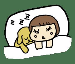 One year old baby Otowa-chan sticker #1527894