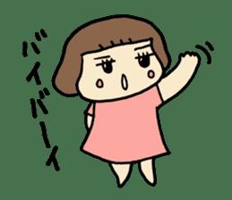 One year old baby Otowa-chan sticker #1527895