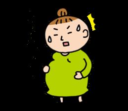 babys-room OfficialStamp-Pregnancy sticker #1527948