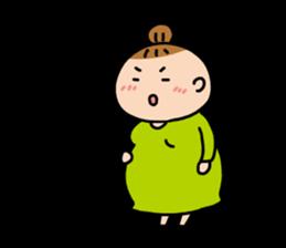 babys-room OfficialStamp-Pregnancy sticker #1527974