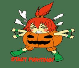 Pumpkin-chan's Halloween activities (EN) sticker #1528022