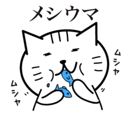 Cat to provocation sticker #1531556