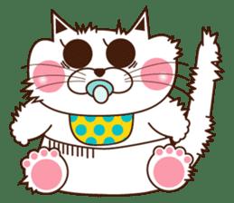 Nyamon of a cat -Baby- sticker #1532823