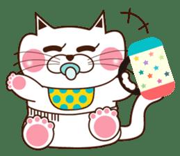 Nyamon of a cat -Baby- sticker #1532848