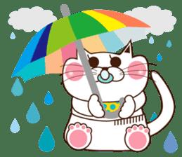 Nyamon of a cat -Baby- sticker #1532852