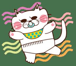 Nyamon of a cat -Baby- sticker #1532854