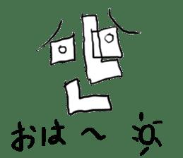 kenasi-man sticker #1533431