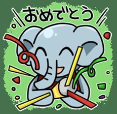 Daily life of  animals extra sticker #1536925