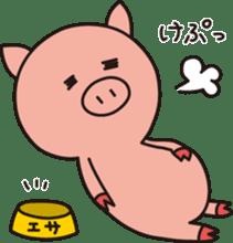 The Piglet's Life. sticker #1537978