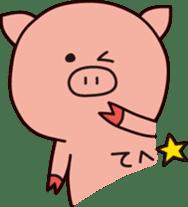 The Piglet's Life. sticker #1537988