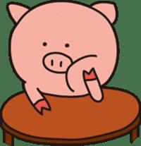 The Piglet's Life. sticker #1537997