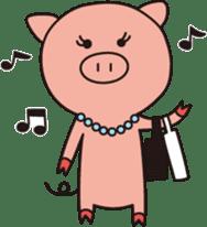 The Piglet's Life. sticker #1538005