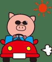 The Piglet's Life. sticker #1538006