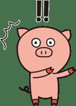 The Piglet's Life. sticker #1538008