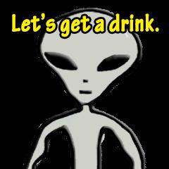 Grey Alien Family(English Ver.)