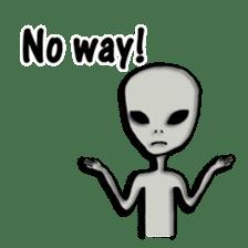 Grey Alien Family(English Ver.) sticker #1539912